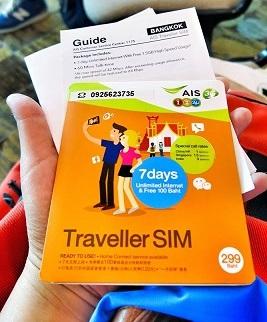 Changi Recommends AIS Traveler SIM Card