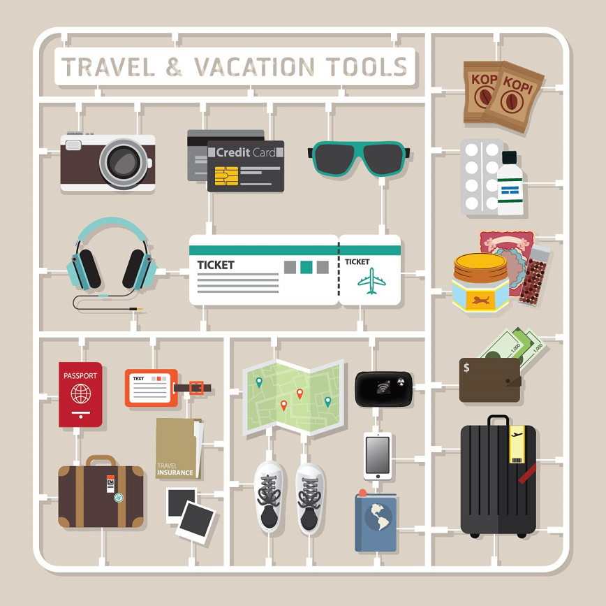 What Is In A Typical Singaporean Travel Bag